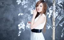 韩国第一车模黄美姬高清壁纸