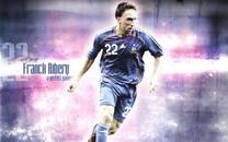 世界杯里贝里Franck Ribery足球明星桌面壁纸